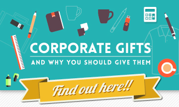 Promotional Corporate Gift Infographic