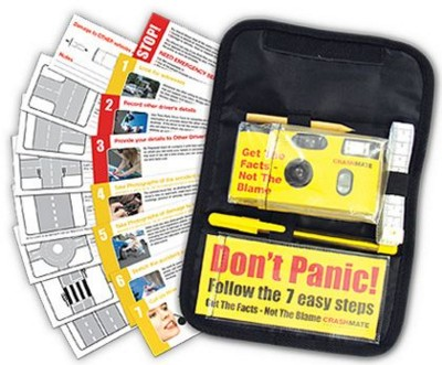 CRASHMATE CAR ACCIDENT EVIDENCE KIT