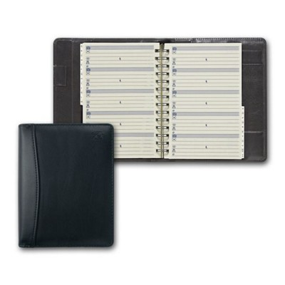 COLLINS ELITE COMPACT PHONE & ADDRESS BOOK in Black