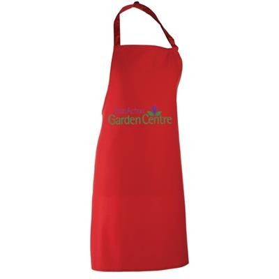 ADULT COTTON APRON COLOUR