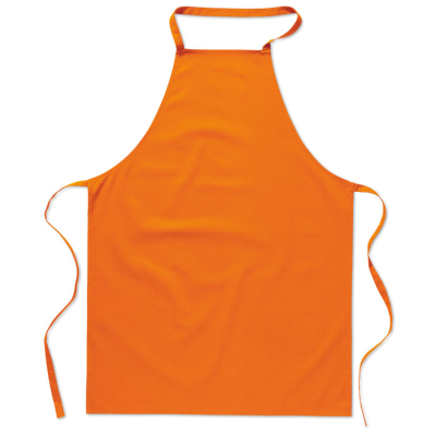 KITCHEN APRON in Orange