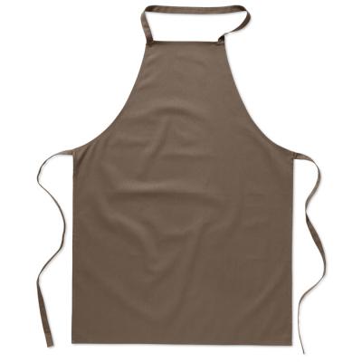 KITCHEN APRON in Taupe