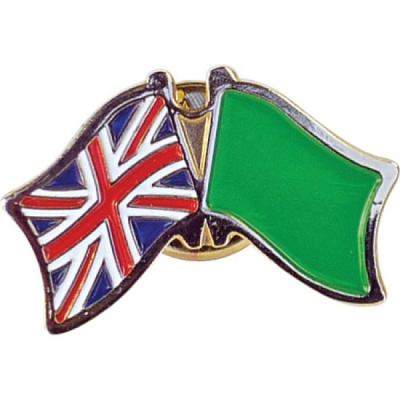 50MM STAMPED IRON SOFT ENAMELLED BADGE