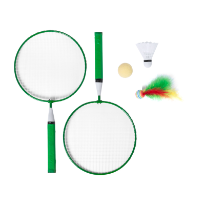 BADMINTON SET with 2 Rackets & 3 Kinds of Balls