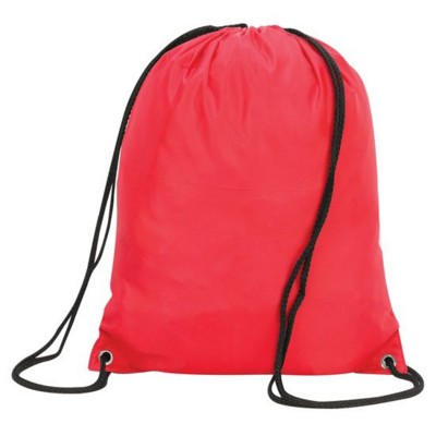 STAFFORD DRAWSTRING TOTE BACKPACK RUCKSACK in Red