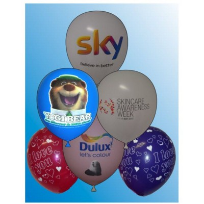 12 INCH PRINTED LATEX BALLOON