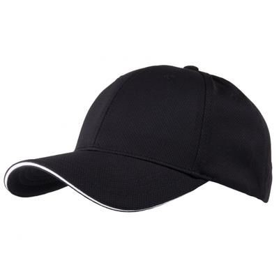 AIRTEX MESH SPORTS BASEBALL CAP in Black & White