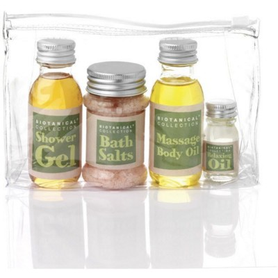 NATURAL TOILETRY GIFT SET in Bag