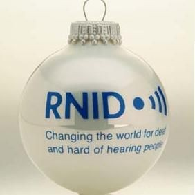 GLASS PROMOTIONAL BAUBLE in Shiny White