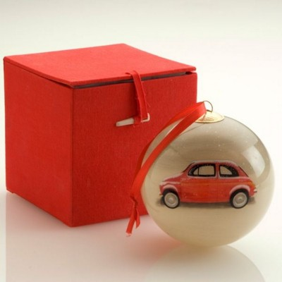 HAND PAINTED PROMOTIONAL BAUBLE