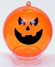 PROMOTIONAL PERSPEX HALLOWEEN BAUBLE