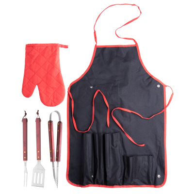 AXON BBQ SET in Red
