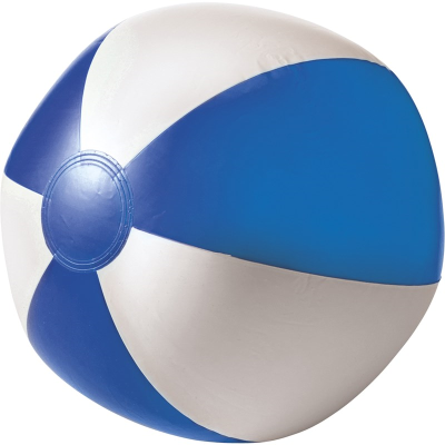BEACH BALL in Blue & White