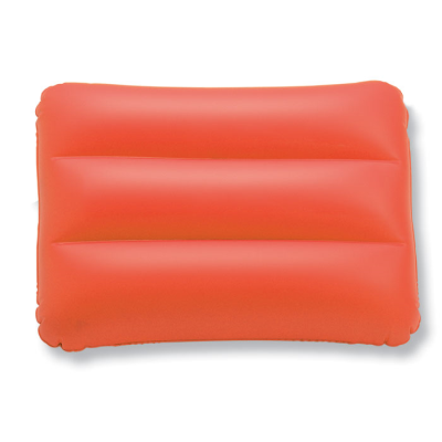 SIESTA INFLATABLE BEACH PILLOW in Red