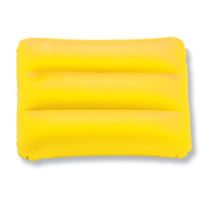 SIESTA INFLATABLE BEACH PILLOW in Yellow