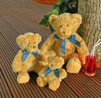 MUMBLES BRACKEN SOFT TOY BEAR
