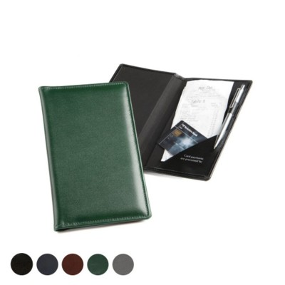 LEATHER BILL RECEIPT HOLDER