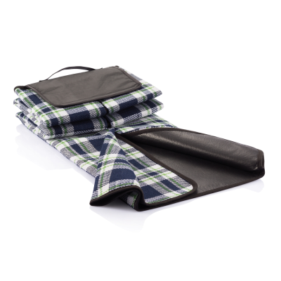 TARTAN PICNIC BLANKET in Blue