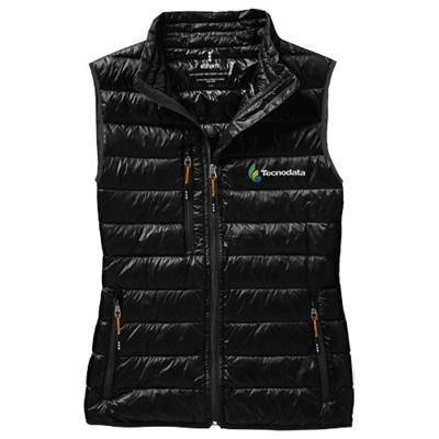 FAIRVIEW LIGHT DOWN LADIES BODYWARMER in Black Solid