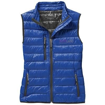 FAIRVIEW LIGHT DOWN LADIES BODYWARMER in Blue