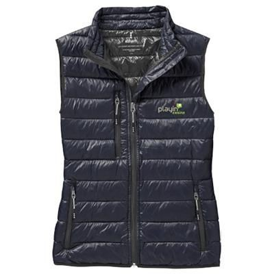 FAIRVIEW LIGHT DOWN LADIES BODYWARMER in Navy