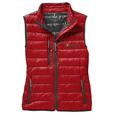 FAIRVIEW LIGHT DOWN LADIES BODYWARMER in Red
