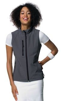 JERZEES LADIES SOFT SHELL GILET