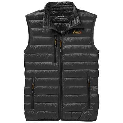 FAIRVIEW LIGHT DOWN BODYWARMER in Anthracite Grey