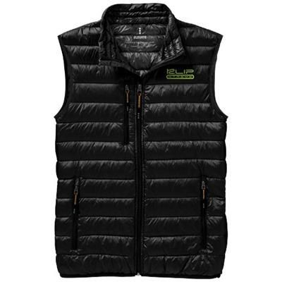 FAIRVIEW LIGHT DOWN BODYWARMER in Black Solid