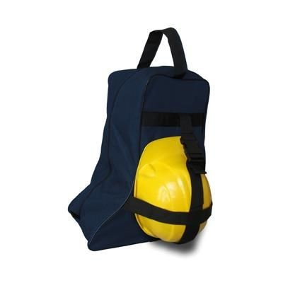 BOOT BAG with BUILDER HELMETS STRAPS in Polyester