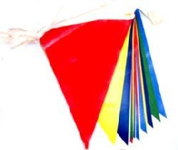 RAINBOW MULTI COLOUR BUNTING