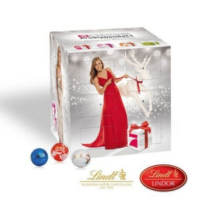 PERSONALISED LINDT ADVENT CALENDAR CUBE