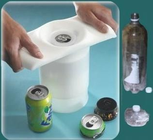 PLASTIC CAN & BOTTLE CRUSHER