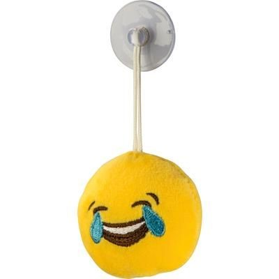 PLUSH EMOJI WINDOW PENDANT in 3 Different Shape with Suction Cup