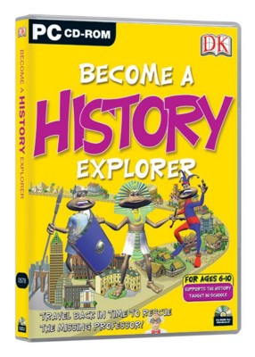 CD ROM - DK BECOME A HISTORY EXPLORER