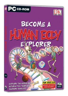 CD ROM - DK BECOME A HUMAN BODY EXPLORER