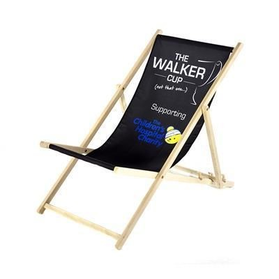 CUSTOM PRINTED DECK CHAIR