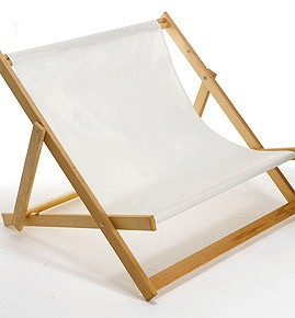 DOUBLE WIDE BOY BEACH DECK CHAIR