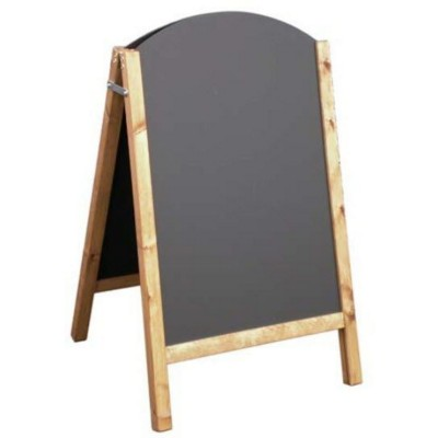 A-BOARD WOOD CHALK BOARD