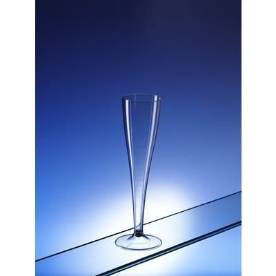 RECYCLABLE SMALL PLASTIC CHAMPAGNE TASTING GLASS