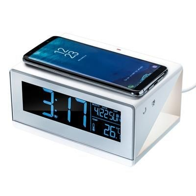 CESSNOCK CORDLESS CHARGER with Alarm Clock