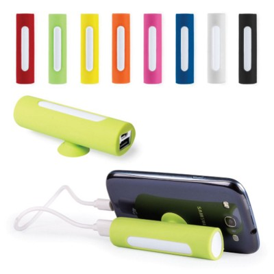 POWER BANK KHATIM 2200MA SILICON POWER BANK with Suction Cup