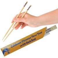 BAMBOO DISPOSABLE SNAP CHOPSTICK SET - 23CM
