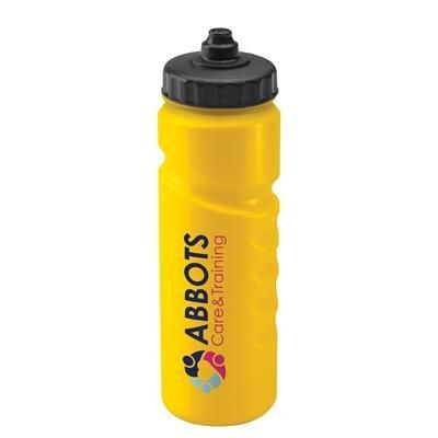 SPORTS DRINK BOTTLE 750ML FINGER GRIP