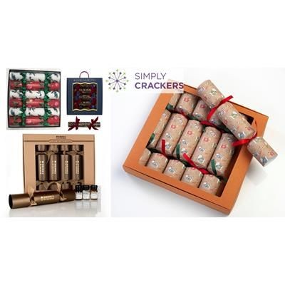 BESPOKE BOX OF 6 CHRISTMAS CRACKERS