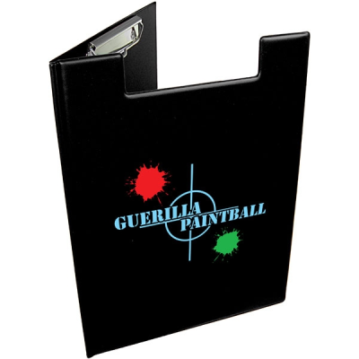 A4 FOLDER CLIPBOARD in Black
