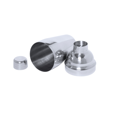 TOBASSY STAINLESS STEEL METAL COCKTAIL SHAKER 550 ML