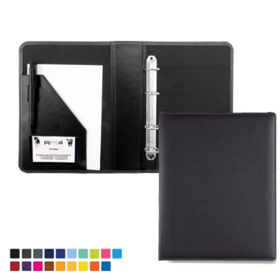 A5 RING BINDER in Matt Lustre Torino PU Leather