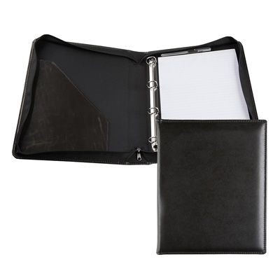 RECYCLED E LEATHER A4 RING BINDER