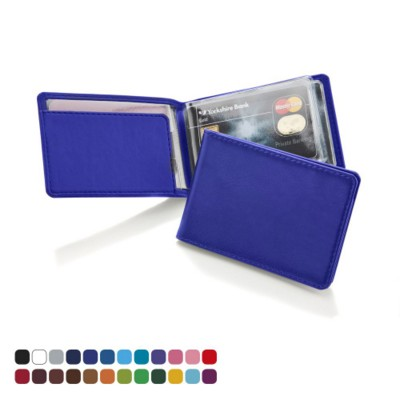 DELUXE CREDIT CARD CASE in Belluno PU Leather